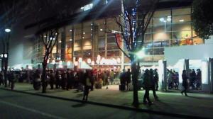 横浜アリーナ入口