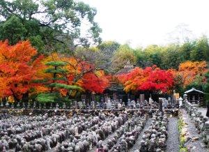 嵐山の化野念仏寺