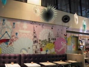 銀座三越のデンマーク・ザ・ロイヤルカフェ
