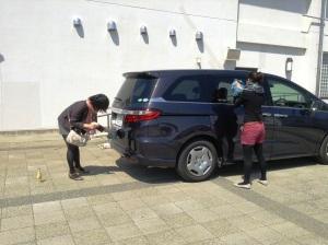 かわいい子には洗車を……