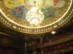 シャガールの天井画!