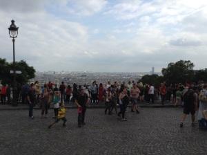 パリの街を見下ろしたけれど……